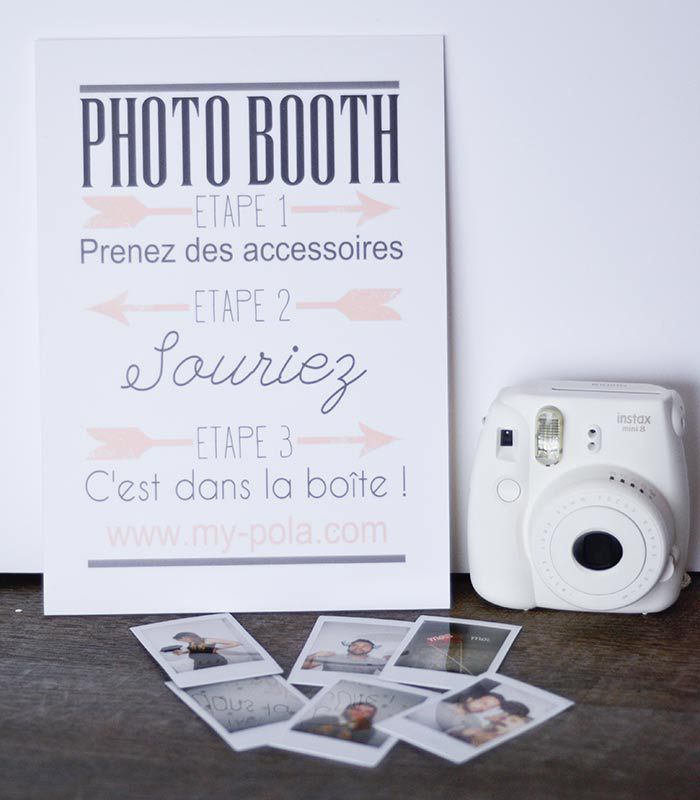 Affiche Photo-Booth MyPola